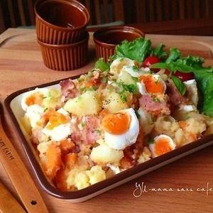 食べごたえばっちり♪具だくさん「デリ風ポテトサラダ」レシピ | レシピブログ - 料理ブログのレシピ満載!