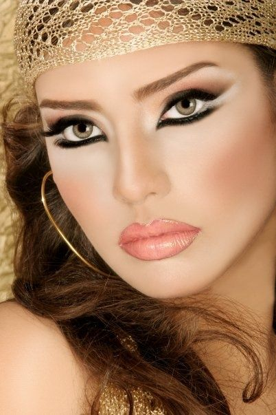 Arabic Eye Makeup: 1000+ Images About BEAUTIFUL WOMENS IN THE WORLD!! On