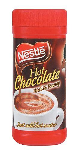 Nestle Hot Chocolate - http://www.saffatrading.co.za/pNEST003/Nestle-Hot-Chocolate.aspx