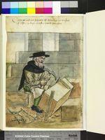 Mit. 279,2 ° Folio 38 verso Umblaff mitten in einer Karkasse auf einem …