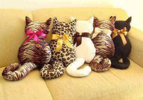 artesanato almofadas decoradas carinha de animais - Pesquisa Google