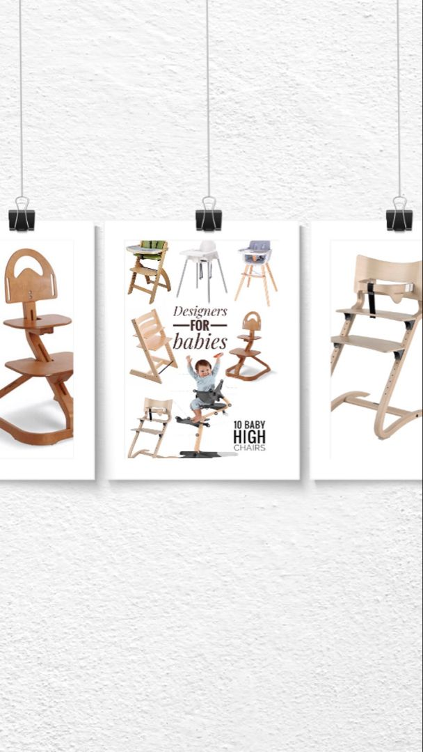 Cool Baby Gadgets By Designers High Chairs With Images Cool