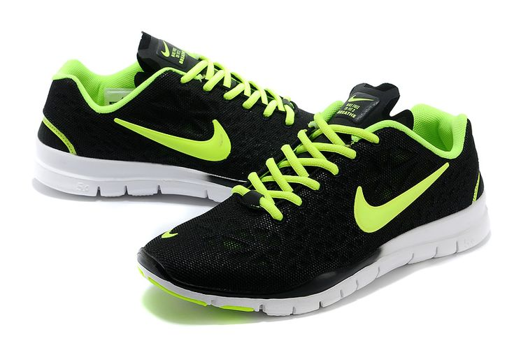 New Nike Free Run 50 3 mens Black and White Shoes