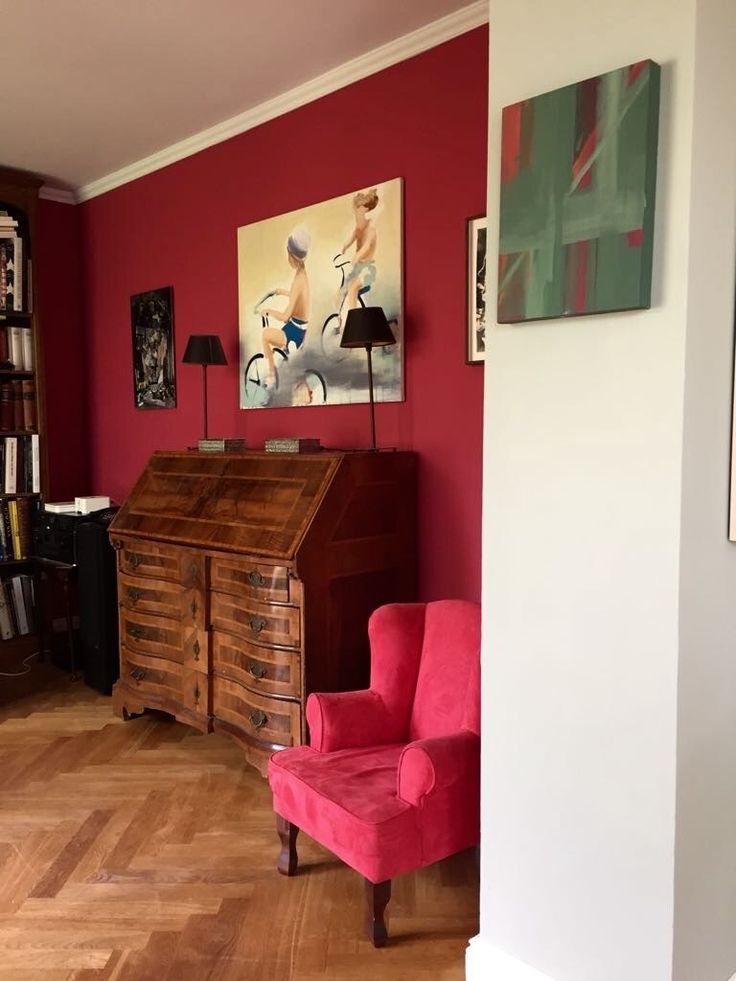 18 besten Wandfarbe rot Bilder auf Pinterest Wandfarbe rot