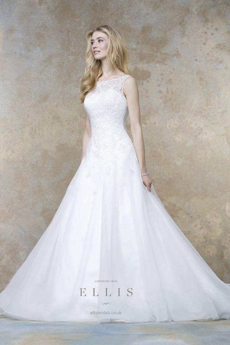 Ellis Bridals 2016 Wedding Dresses | itakeyou.co.uk #weddingdress #weddinggown