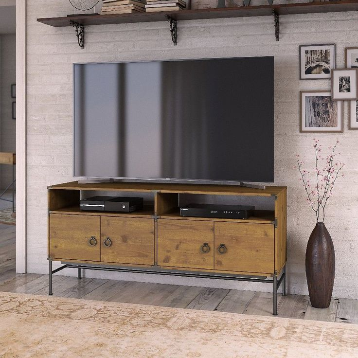 kathy ireland® Home by Ironworks 60W TV Stand in Vintage ...
