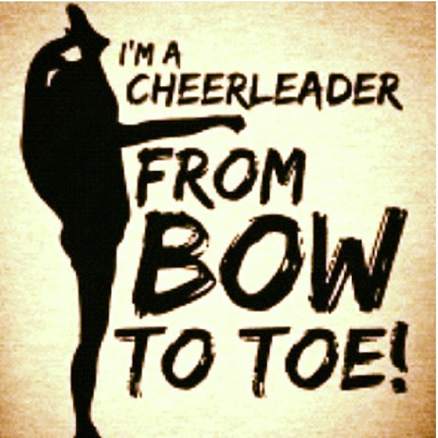 From bow to toe.