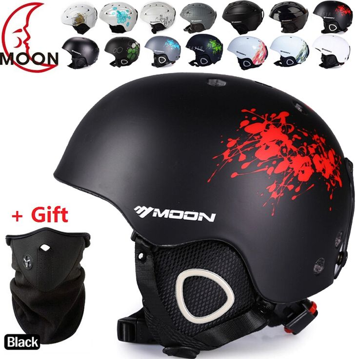 MOON Ski helmet Ultralight and Integrally-molded Breathable Snowboard helmet men women Skateboard helmet Multi Color