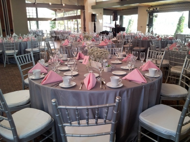 1000 Images About Gray And Pink Reception Table Decor On
