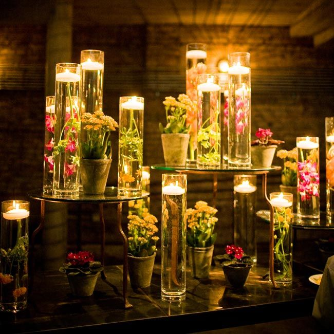 Fall Floating Candle Centerpieces: 14 Best Memorial Services Images On Pinterest