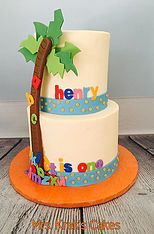Chicka Chicka Boom Boom Cake Custom-made and personalized cakes, cookies, and desserts serving the St. Louis, MO area.