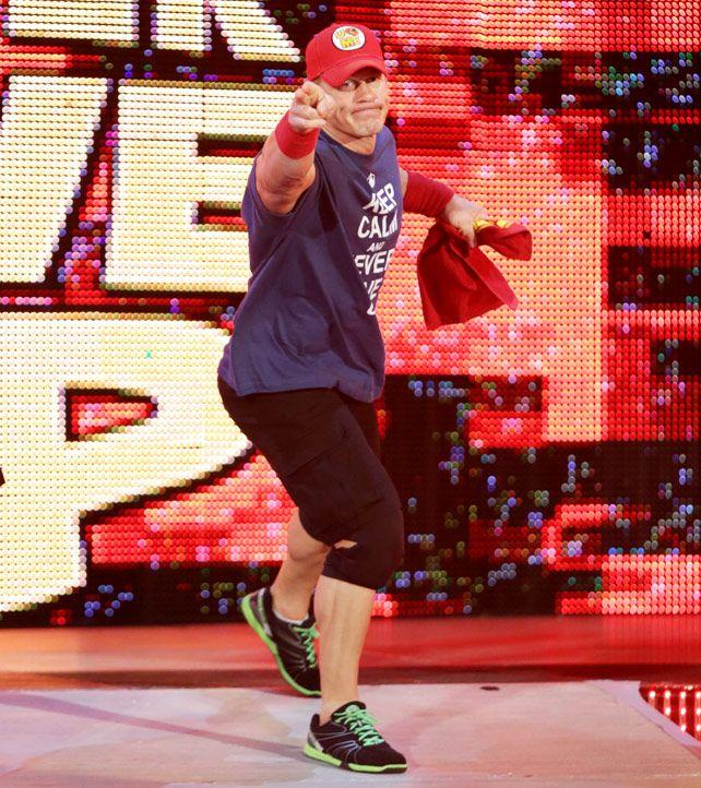 Raw 9/22/14: John Cena vs Randy Orton