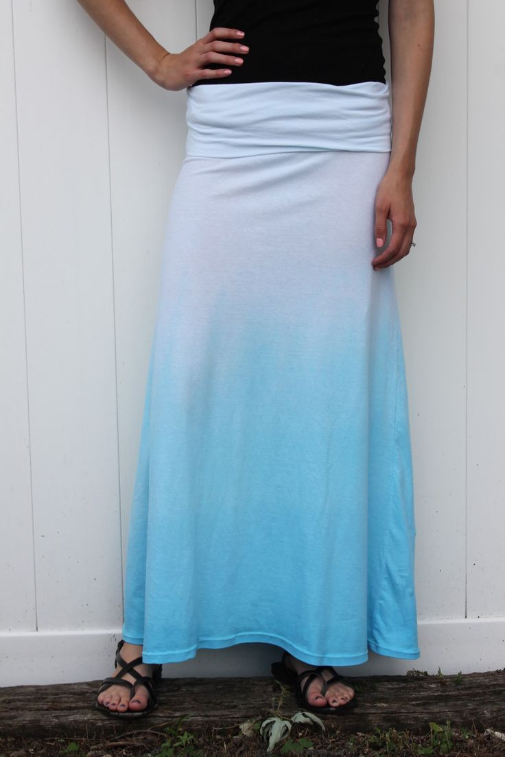 How to make fabric dye - Dip Dyed Ombre Maxi Rit Fabric Dye Clothing Dyeing To Make Those Sheets