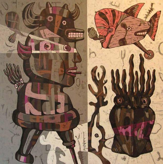 Eddie Hara, Squid Eaters II, 2007