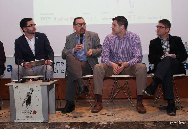 César De la Fuente (Playoff), José Miguel Aguilar (SUR), Ricardo González (AS) y Arsenio Cañada (TVE)