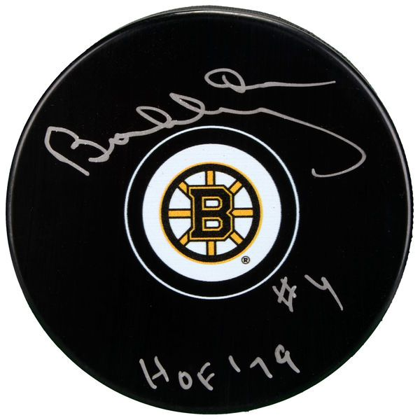 Bobby Orr Boston Bruins Fanatics Authentic Autographed Hockey Puck with HOF 79 Inscription - $299.99