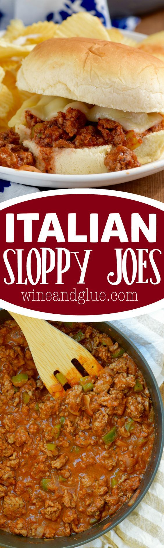These Italian Sloppy Joes are an AMAZING twist on a classic and come ...
