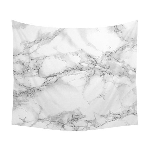 Marble Tapestry Texture Photo White Stone by LaChicHomeDecor