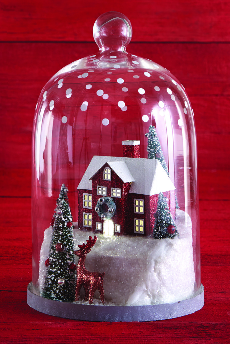 1000 images about christmas on pinterest snowflakes for Martha stewart christmas wine glasses