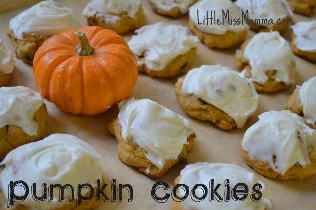 pumpkin cookie recipe: Cream Cheese Ice, Chocolate Chips, Cream Cheese Frostings, Pumpkin Cookies, Chocolates Chips Cookies, Pumpkin Chocolates Chips, Pumpkins, Best Cookies Recipes, Cookie Recipes