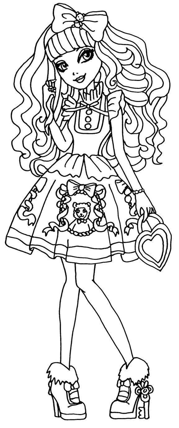 8 best images about ever after high on pinterest royal for Madeline coloring pages printable