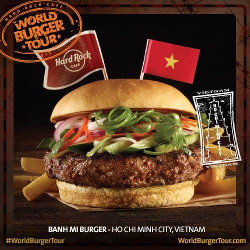 Banh Mi Burger - HO CHI MINH CITY, VIETNAME #WorldBurgerTour
