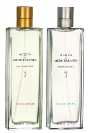 Agrumata e aromatica pour Homme, fresca e floreale pour Femme, Acqua di Mediterranea