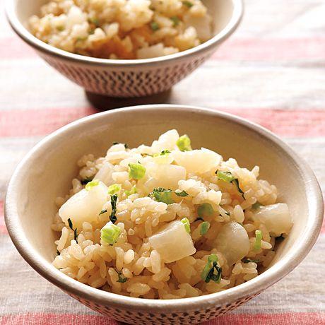 大根飯 | 石原洋子さんのごはんの料理レシピ | プロの簡単料理レシピはレタスクラブニュース