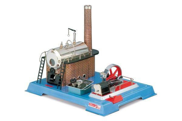 Wilesco Dampfmaschine elektrisch D242