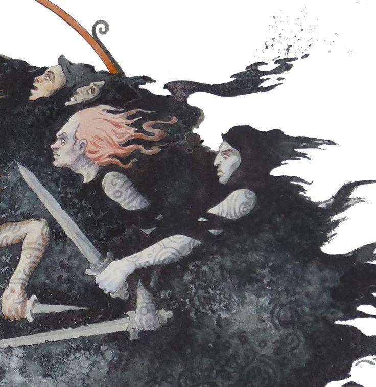 Dmitrij Ilyutkin   Nine black horsewomen 3