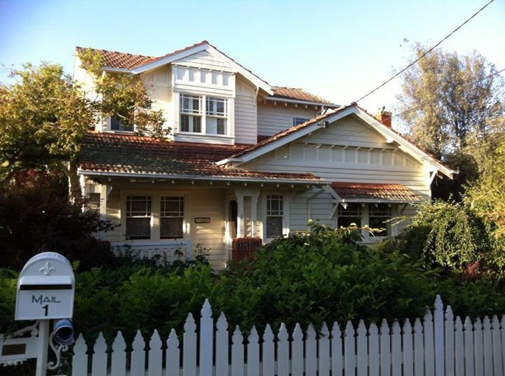 Double story weatherboard
