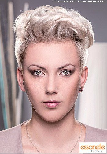 Frisur Undercut Frauen Fresh Frisuren Bilder Undercut Mit Femininen Wellen Im Deckhaar