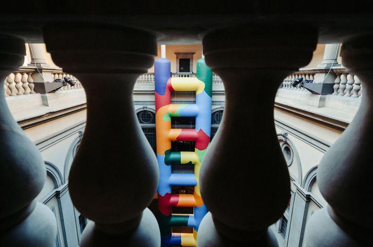 Paola Pivi Untitled (Project for Etchigo-Tsumari) #PiviFirenze #PalazzoStrozzi #Contemporaryart Foto di Martino Margheri