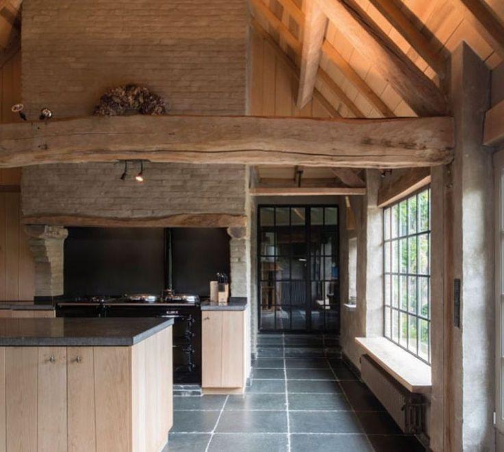 Vloer voor gelijkvloer (hal, keuken, woonkamer)