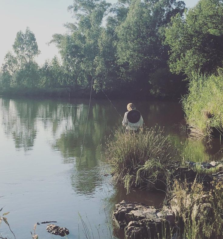 There are worse ways to spend a Sunday ||Vredefort Crater World Heritage Site|| #flyfishing #fishing #vaalriver #southafrica