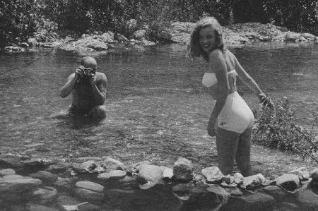 A rare photograph of Marilyn Monroe by Richard Whiteman, 1946. -