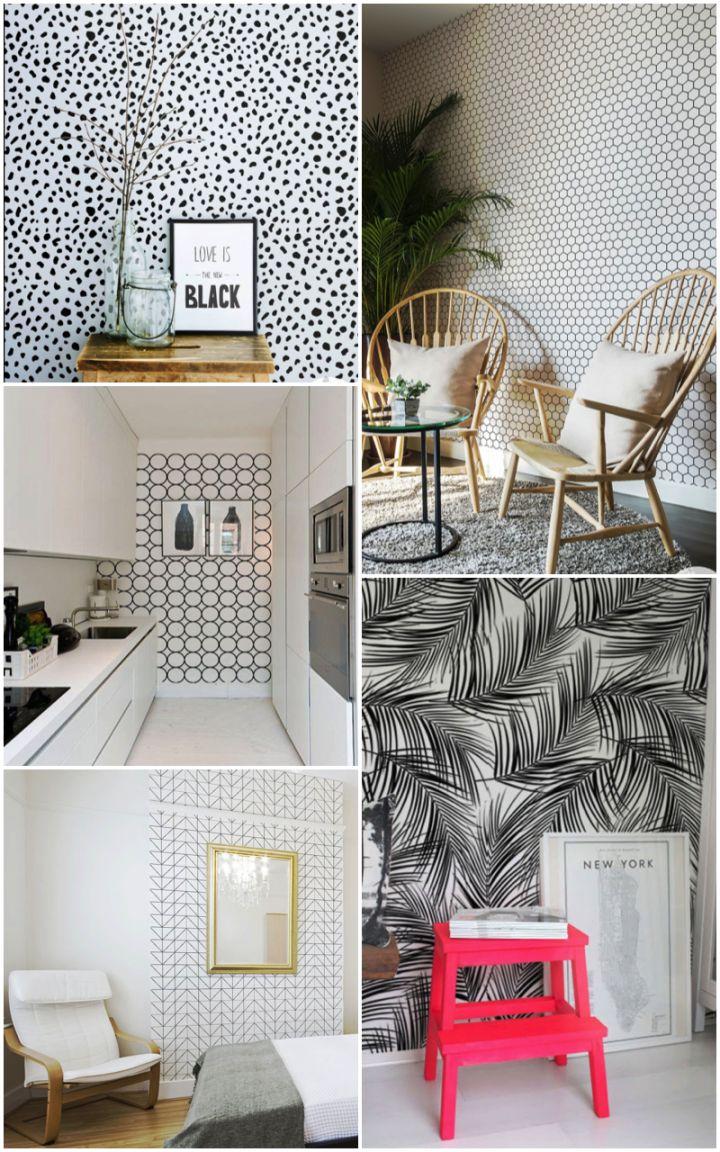 Etsy finds. removable wallpaper. Livettes | Beautiful Living | Pinterest | Wallpaper, Wallpaper ...
