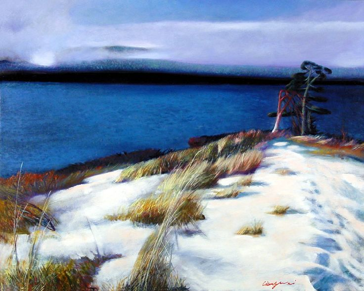 Artist:   Liang Wei, Title: The Sound in Snow