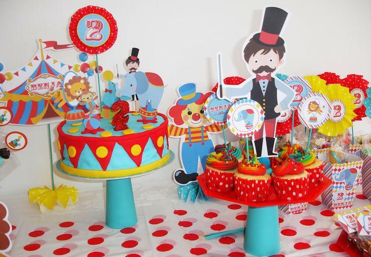 18 best images about circo on pinterest cups - Ideas para cumpleanos 18 ...