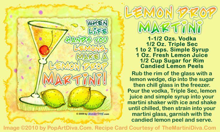 Lemondrop Martini by The Martini Diva
