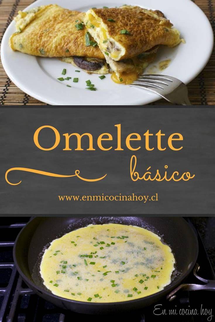 Una receta sencilla de omelette, con los detalles para lograr un excelente resultado.