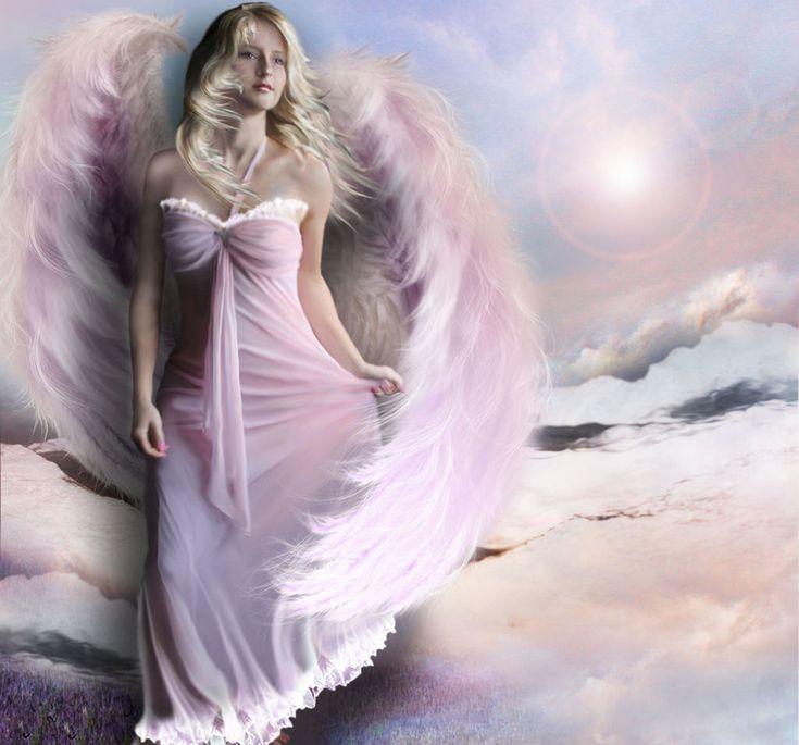 Картинки с ангелами-женщинами