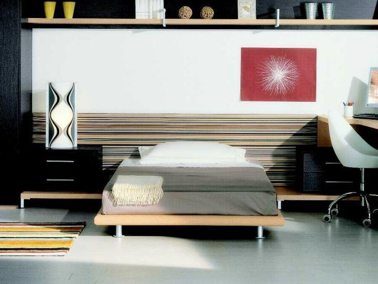 BADROOM - centri camerette specializzati in camere e camerette per ragazzi - cameretta con letto una piazza e mezza