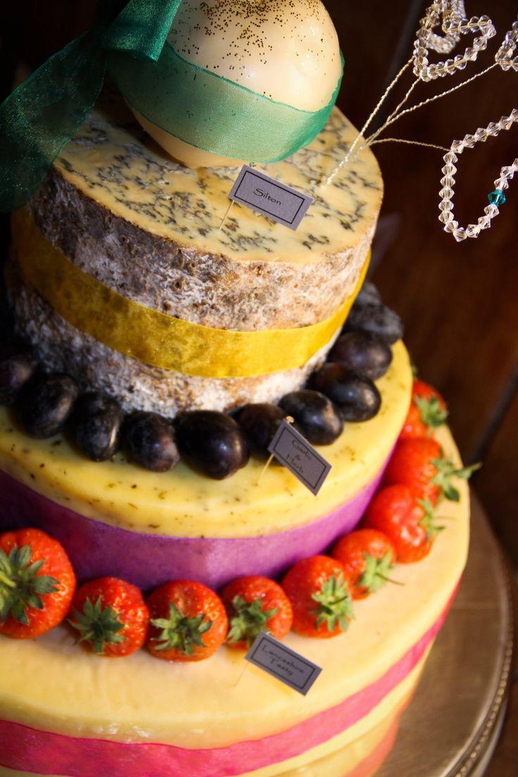 Shorrocks cheese, wedding cakes, Goosnargh, strawberries, fruit