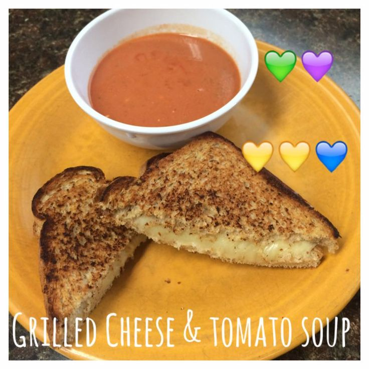 Di's Food Diary 21 Day Fix Approved Recipes = Grilled Cheese & Tomato Soup
