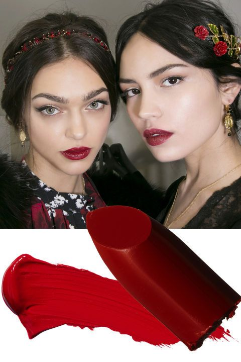 """There's something about red lipstick that instantly makes you look more sophisticated and glamorous,"" says celebrity makeup artist Troy Surratt."