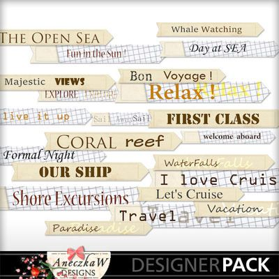Cruise Labels