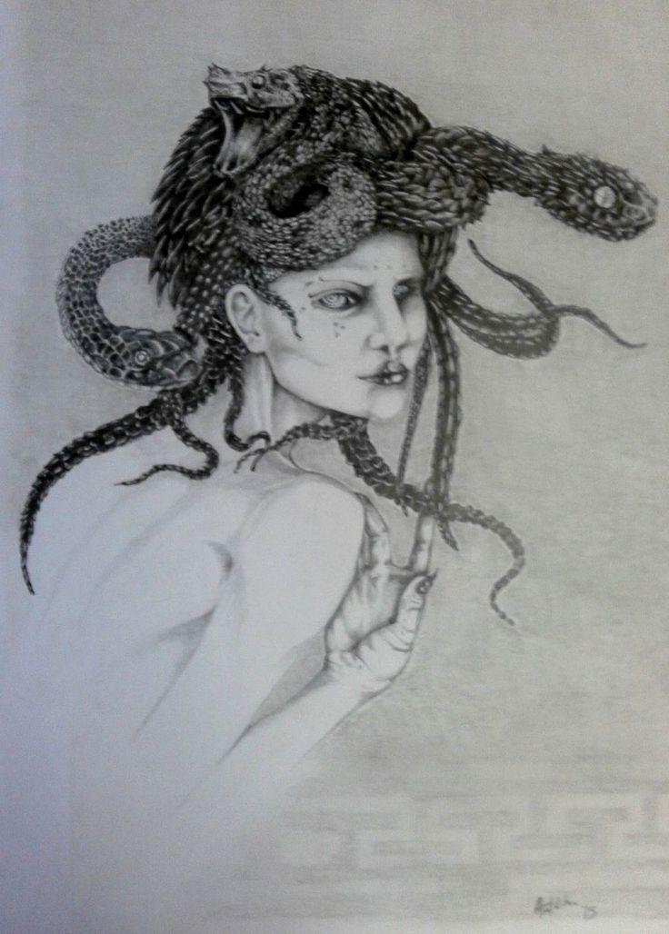 Drawing Pencil Medusa
