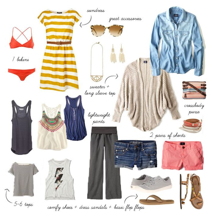 What to pack for Southeast Asia :: tips for packing light but still looking cute! via Viva Good