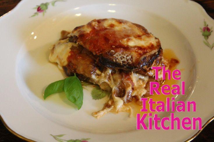 Eggplant Parmesan - Melanzane alla parmigiana - Real Italian Kitchen